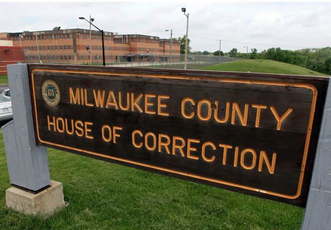 The  entrance to the Milwaukee County House of Correction in Franklin, Wis.