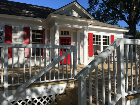 The former Capitol Book & News has been converted into a cafe and store by Huntingdon College.