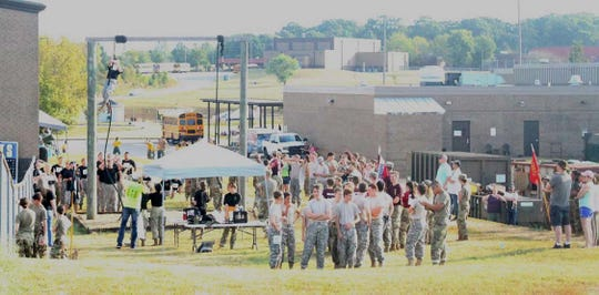 6th Annual Bring the Sting JROTC Raider Competition at Fairview High School on Sept. 14, 2019. This year 32 teams from 18 schools from Tennessee, Mississippi, Indiana, Kentucky, and Alabama participated. Over 500 athletes competed in eight different events