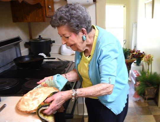 Dorothy Elkins loves to support The Webb School, so she bakes pies for fundraisers. Some have sold for as much as $2,000.