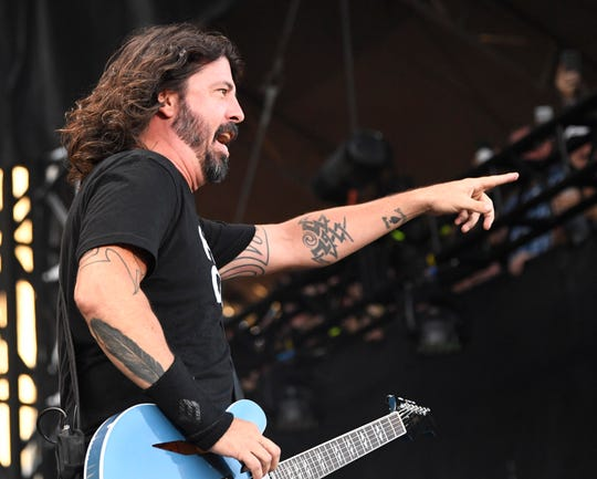 Dave Grohl and his band are coming to the Resch Center on May 10 for the band's first concert in Green Bay. It sold out quickly.
