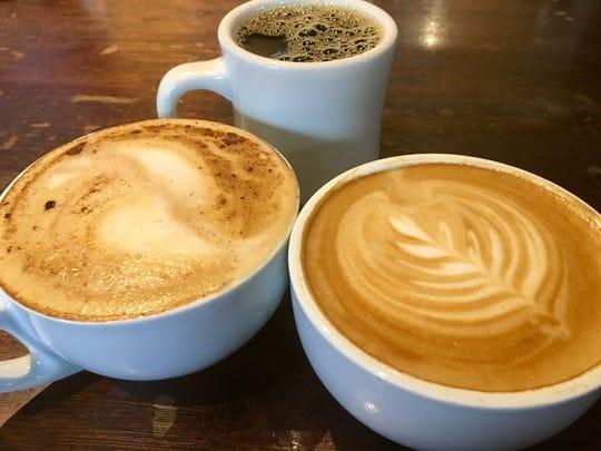Coffee drinks at Fido in Hillsboro Village