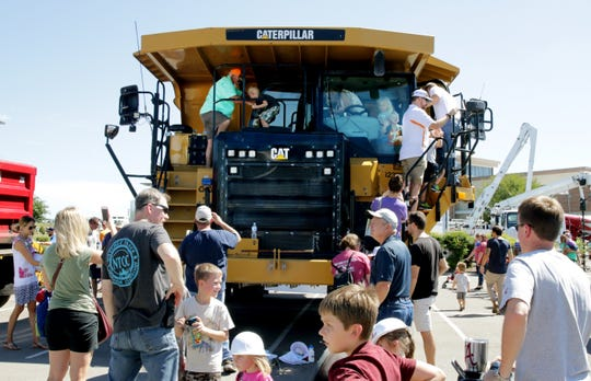 The 2018 Touch A Truck event in Williamson County.