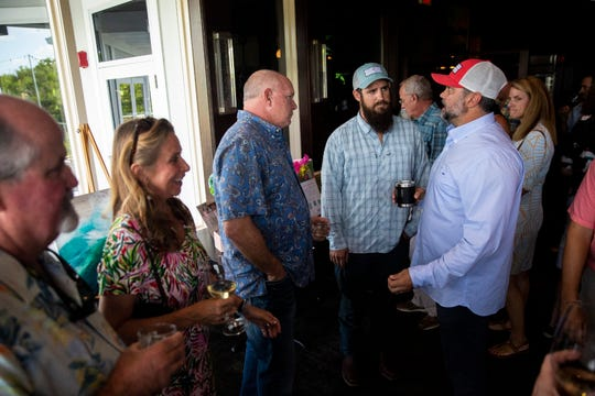 Local nonprofit Captains for Clean Water holds a fundraiser at The Bay House in Naples to promote on water quality issue on Sunday, September 22, 2019.