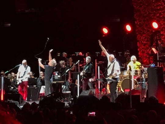 The Who performs Sept. 22, 2019, before a soldout Amalie Arena in Tampa.
