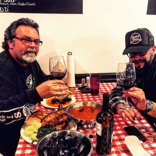 DiGirolamo and Ruiz built their friendship on a shared love of wine, bourbon and good food.
