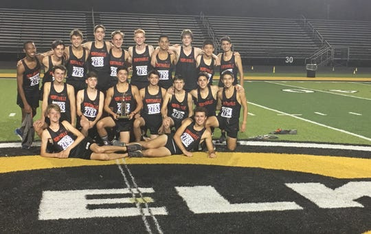 The Northville Cross Country team finished in third place at the Saturday Night Lights meet in Centerville, Ohio.