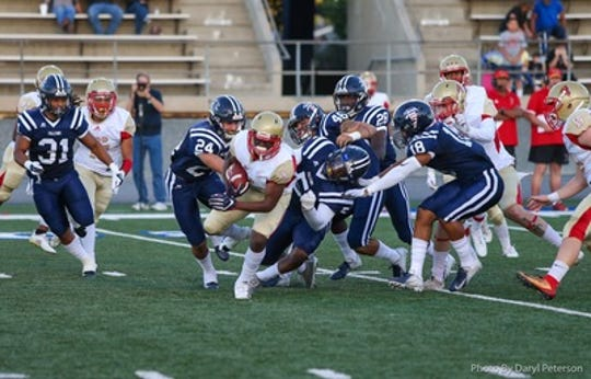 The Roadrunners moved to 1-2 on the season with a 50-7 loss at Cerritos on Sept. 21.