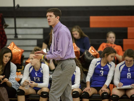 Croswell-Lexington coach Ryan Wilson recently won his 300th volleyball match in just his eighth year leading the Pioneers.