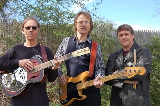 The Roadhouse Roosters, left to right, Joel Smith, Rick Greenop and Chris Rottkamp.
