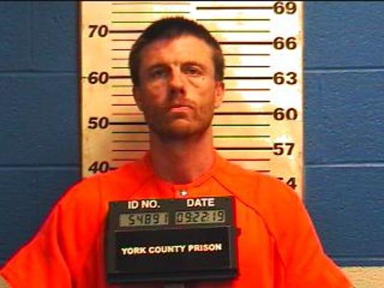 Matthew Turner, 39, was arrested on Sept. 22.