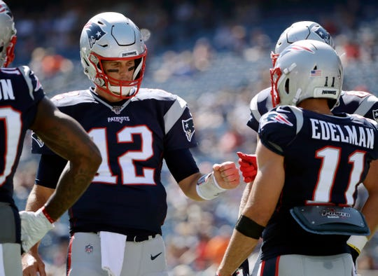 As always, Tom Brady, Julian Edelman and the Patriots are off to another unbeaten start.