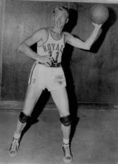 Bob Davies was an early NBA star with the Rochester Royals.