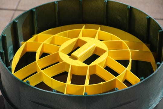 A Polylok Universal Kid Catcher is a form of secondary protection that comes into play if a lid is damaged or unsecured.