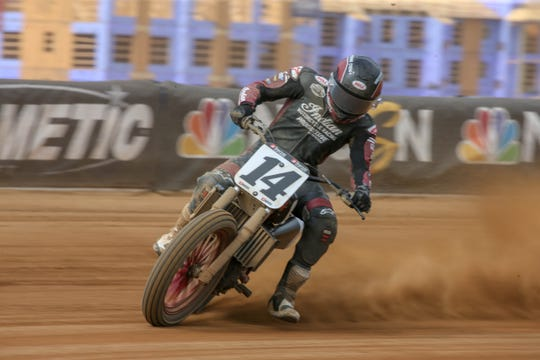 American Flat Track Racer Briar Bauman, of Salinas, was crowned AFT Twins Champion Sept. 21, 2019.