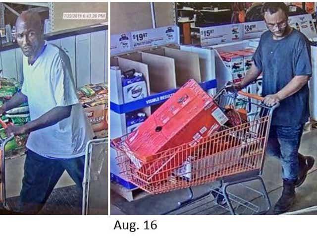 Shreveport Police Seeks Help Identifying Home Depot Theft
