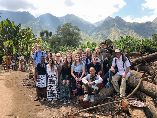 High school students from Greene and Christian counties were selected to participate in Chocolate University, an immersive international business program that included a trip to rural Tanzania.