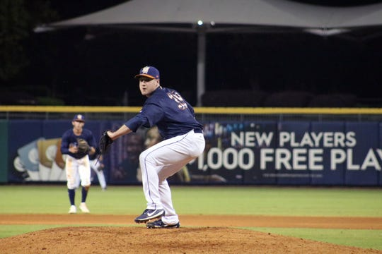 Former Lee High and Staunton Braves pitcher Tyler Zombro was named relief pitcher of the year in the Tampa Bay Rays organization.