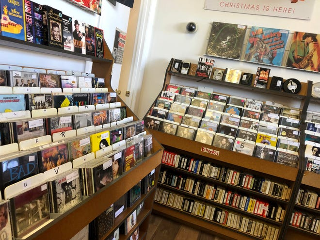 Ken Bahrs Jr. and Tanya Bahrs opened The Vinyl Asylum in Staunton at the beginning of September. The two have owned several record booths throughout the state, but they decided consolidate and move everything to one place in the city they love.