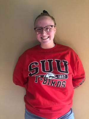 Ashley Thomas, a Snow Canyon High grad and sophomore at Southern Utah University, rolled a 683 series that included 17 strikes during mixed-league bowling action in St. George.