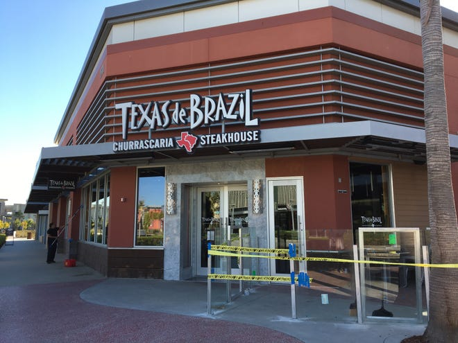 A new Brazilian steakhouse restaurant will open at The Collection in Oxnard at what used to be Famous Dave's.