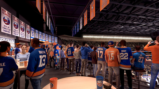 The New York Islanders unveiled new designs of its new Belmont Park arena on Sept. 23, 2019. It is set to open in the 2021-22 season.