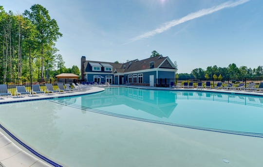 Schell Brothers' communities boast walking trails and dog parks, as well as outdoor pools and pickleball/tennis courts.