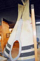 A half-teepee will provide a fun entry to the west hall of the Tales 'N' Trails Museum in Nocona, Texas. The museum's expansion will showcase Native American culture, western heritage, agriculture, leather goods and the oil and gas industry.