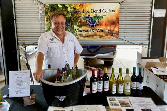 Area wineries such as Horseshoe Bend Cellars and 6th Street Winery regularly set up at the Downtown Farmers Market, and wineries will be featured from 7:30 a.m. to 1 p.m. Saturday at the Market's Fall Wine Festival.