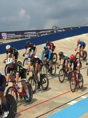 Midwestern State University's cycling team took seventh in team pursuit at the recent College Track Nationals in Rock Hill, South Carolina. The team hosts the 2019 Mustang Madness Sept. 28-29.
