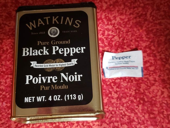 In addition to acting as a clotting agent, black pepper is also has antibacterial properties.
