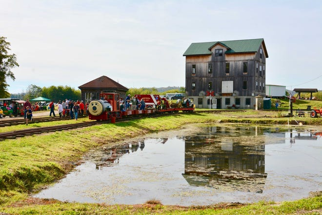 Train rides, working sawmill, antique farm equipment displays and more will be part of the 15th annual Education of Yesterday farm show Oct 19 and 20 in Dresden.