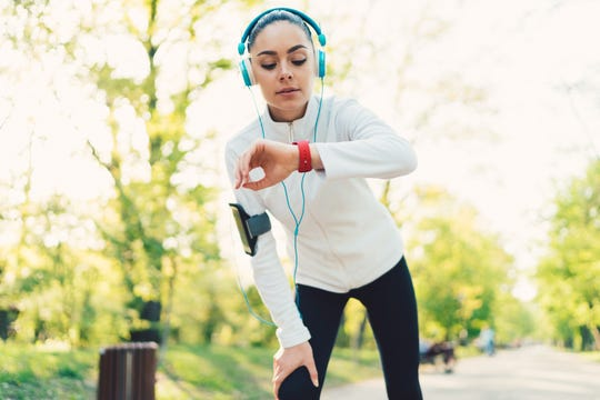 Stay up to date on your workout progress with a new fitness tracker.