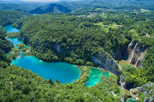 Prized for its extraordinary natural beauty, Plitvice Lake National Park was added to the list of UNESCO World Heritage Sites in 1979.