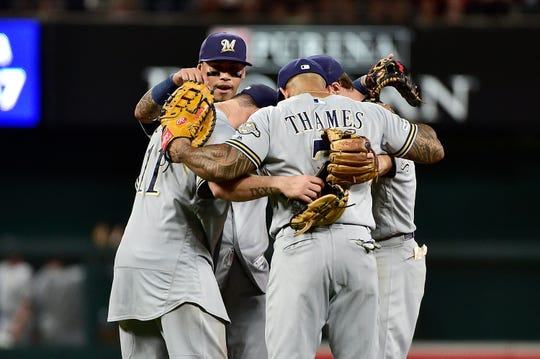 The Brewers have won 15 of 17 entering Monday.