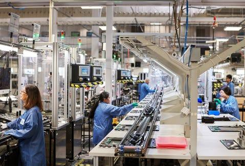 Apple's Texas facility
