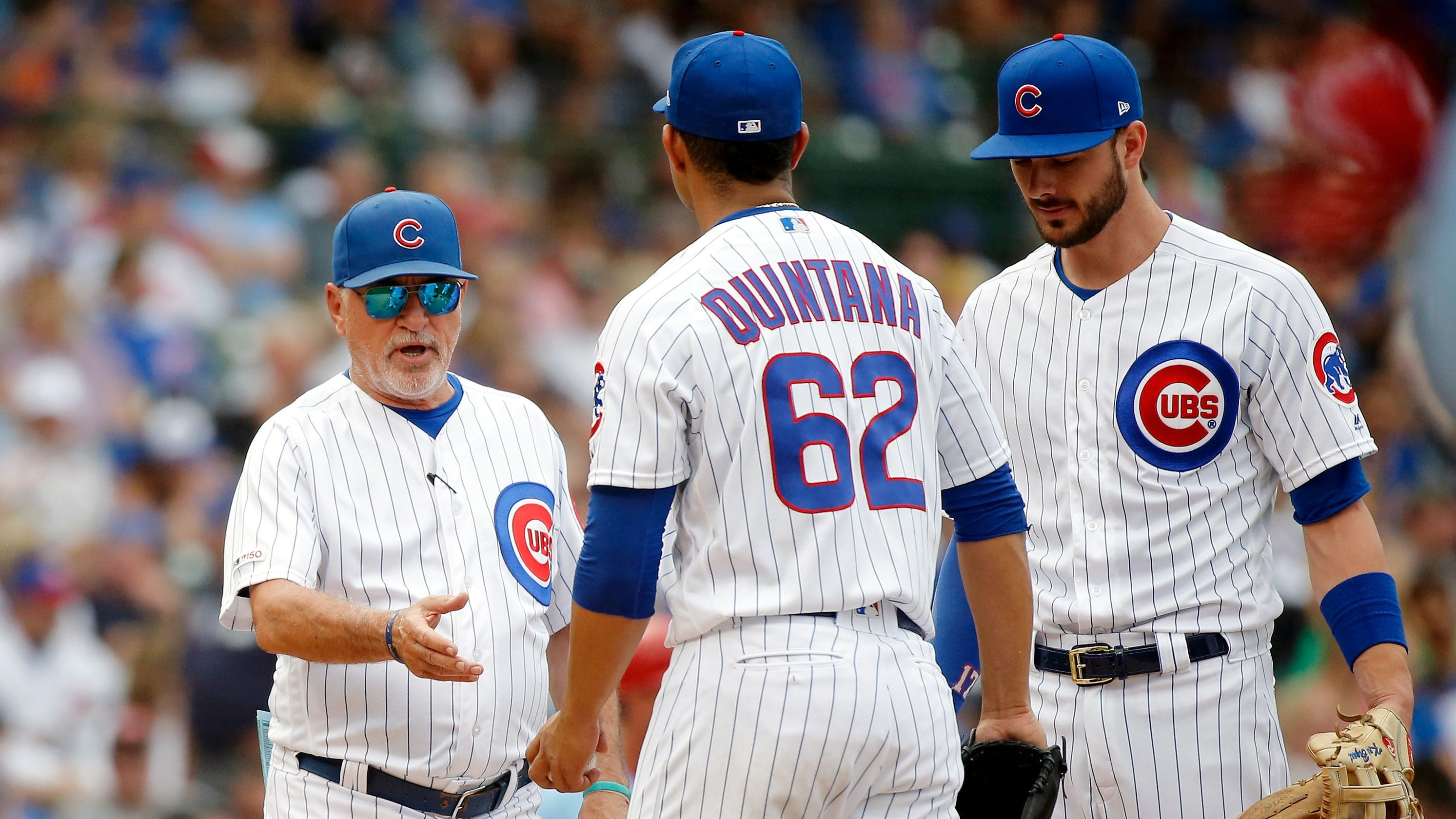 Opinion: Cubs' weekend meltdown officially signals the end of the Joe Maddon era