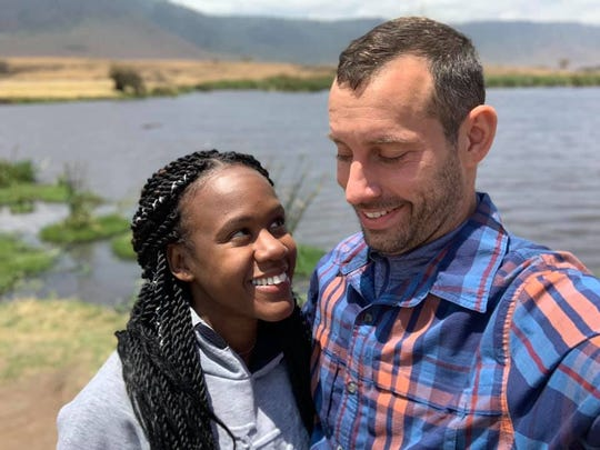 Steven Weber died while delivering underwater proposal to Kenesha Antoine in Tanzania.