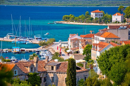 Tourists don't seem to have discovered the sleepy island town of Zlarin ... yet.