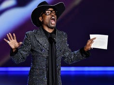 """Billy Porter accepts the award for lead actor in a drama series for his role in """"Pose."""""""