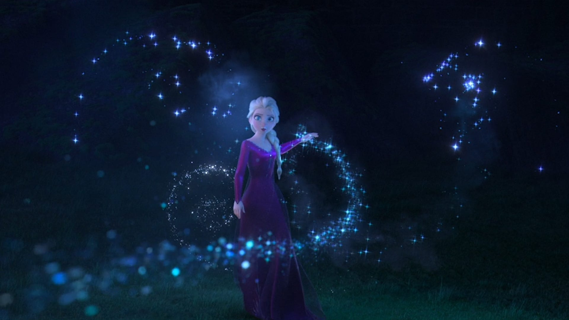 Elsa ventures into the unknown in Disney s pretty but messy  Frozen II