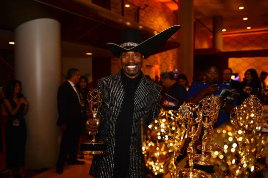 Celebrity Party: Billy Porter got two standing ovations, at the start and then the conclusion of his Emmys speech. Cheers continued when he went to get his award engraved.