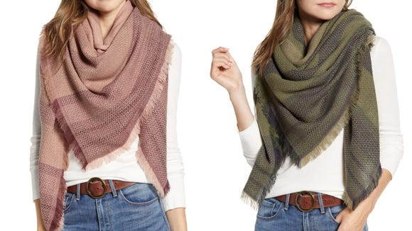 Scarves are a classic fall accessory.