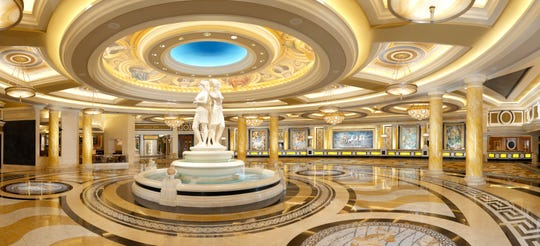 Caesars Palace is a classic Las Vegas attraction