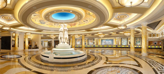 Caesars Palace in Las Vegas now charges an extra $45 per night in resort fees. With taxes, it comes to $51.02.