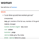 Oxford Dictionary's synonyms for 'woman' are sexist. 30,000 petition to change it