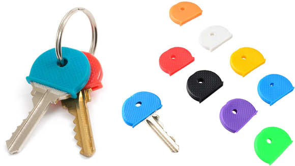 You'll be able to easily tell which key is which based on its color.