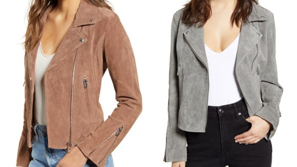 A transitional jacket is absolutely essential.