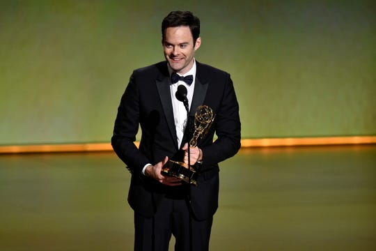 Image result for Bill Hader 2019 emmy