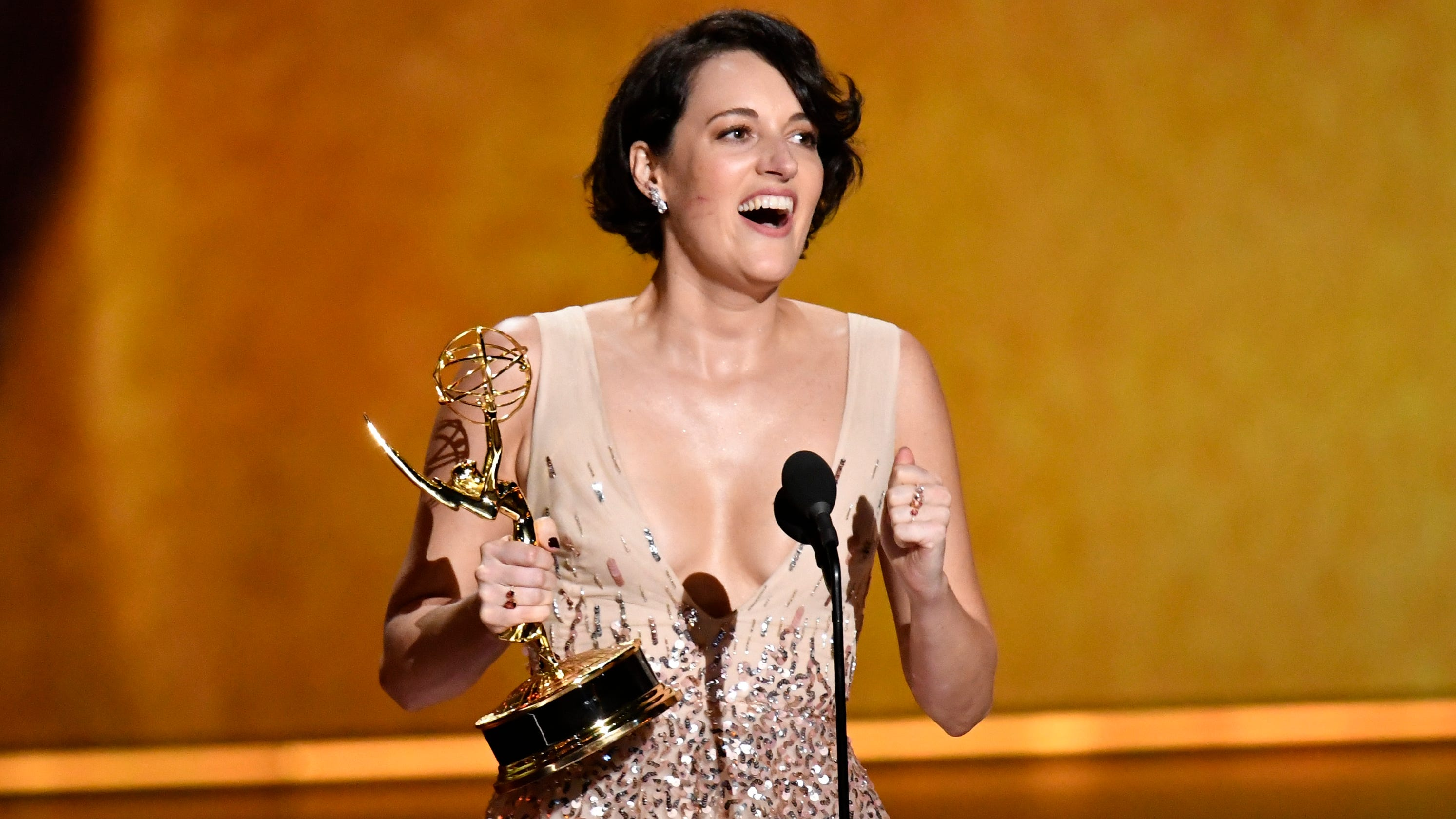 Emmys 2019: Phoebe Waller-Bridge, Bill Hader take top comedy acting honors
